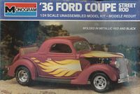 MON_2721 '36 Ford Coupe Street Rod (1:24) (OB)