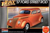 MON_2757 '37 Ford Slant Back Street Rod -'Fat Fendered' series (1:24)