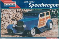 MON_85-7606 RARE Don Fink's Speedwagon (1:25)  (OB)