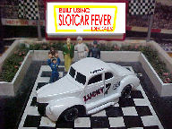 0113SC RTR Lucky #7 Frank Hodge 1:64 scale slot car