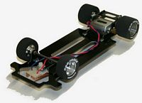 PRO-612R New Pro-Track 1:24 ull Scale Hardbody Roller w/Cheetah II Motor & Body Mounts