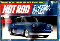 REV_7113 Custom '54 Chevy Sedan model kit