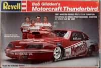 REV_7167 Bob Glidden's Motorcraft Thunderbird model kit (1:24)