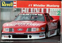 REV_7197 #1 Whistler Mustang model kit (1:25)