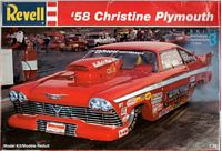 REV_7350 '58 Christine Plymouth model kit (1:25)
