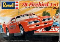 REV_85-2343 '78 Firebird model Kit (1:24)