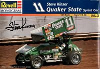 REV_85-2517 World of Outlaws #11 Steve Kinser Quaker State sprint car (1:24)