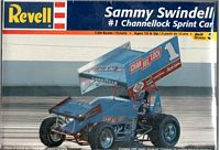 REV_85-2575 World of Outlaws #1 Sammy Swindell Channellock Sprint Car (1:24)