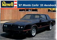 REV_85-2576 '87 Monte Carlo SS Aeroback model kit (1:24)