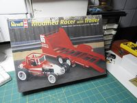 REV_85-4150 Modified Racer with Trailer  (1:24) (OB)