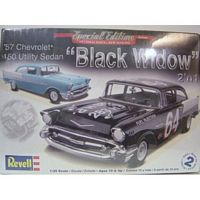 "REV_85-4240 Revell Model kit 1:25 1957 Chevy ""Blackwidow"" S/E New!!"