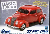 REV_85-0809 '37 Ford Sedan (1:24) -OPEN BOX-