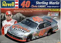 REV_85-2199 RARE! RARE! RARE! #40 Sterling Marlin Coors Light Dodge Intrepid (1:24)