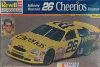 REV_85-2553 #26 Johnny Benson Cheerios Ford Taurus (1:24)  (OB)