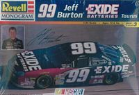 REV_85-2556 #99 Jeff Burton Exide Batteries 1998 Tausus (1:24)