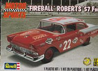REV_85-4024 #22 Fireball Roberts 57 Ford sedan