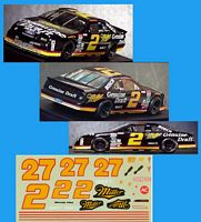 RW-2/27Miller #2 or #27 Rusty Wallace Miller Pontiac Grand Prix (1:24)