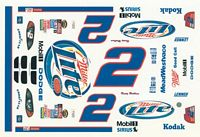 RW_2MillerLiteWhite #2 Rusty Wallace Reverse Color Scheme Dodge (1:24)