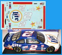 RW_2TrueTexas #2 Rusty Wallace True To Texas Miller Dodge (1:24)