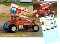 SC_022-C #8 Doug Wolfgang 1990 Williams Grove...
