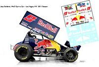 SC_052-C #9 Joey Saldana 2011 Red Bull sprint car