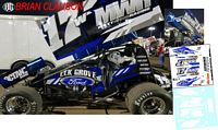 SC_089-C #17W Brian Clauson Ford Sprint Car