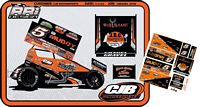 SC_101 #5 David Gravel Go Muddy 2018 Sprint Car