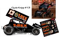 SC_102 #13 Clyde Knipp T-Rex 2018 Sprint Car