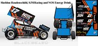 SC_104-C #17 Sheldon Haudenschild, SJM Racing and NOS Energy Drink 2018 Sprint Car