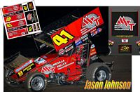 SC_108-C #41 Jason Johnson MVT 2018 Sprint Car