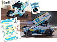SC_130 #17 Harli White 2019 Sprint Car