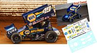 SC_164-C #49 Brad Sweet - Kasey Kahne Racing NAPA Sprint Car