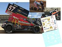 SC_170-C #57 Kyle Larson McDonalds Sprint Car