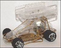 SPSRTPD  1:32nd Scale RTR Sprint car
